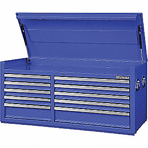 TOOL CHEST 57IN 10 DRWR BLUE
