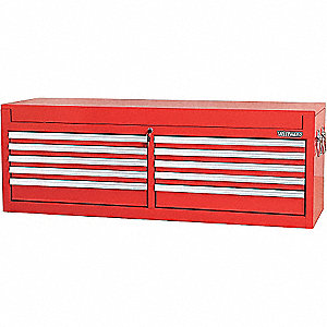 TOOL CHEST 56IN 10 DRWR RED