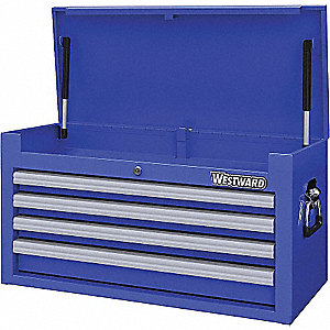 TOOL CHEST 26IN 4 DRWR BLUE