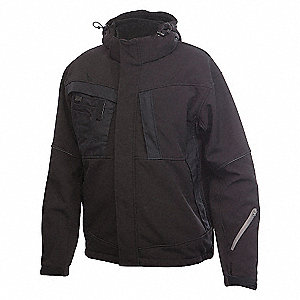 SOFTSHELL JACKET BLACK SMALL