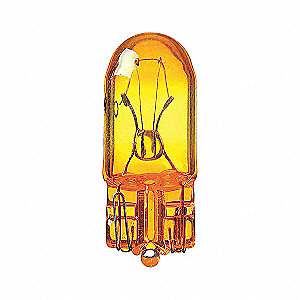 LAMP MINIATURE AMBER PK10