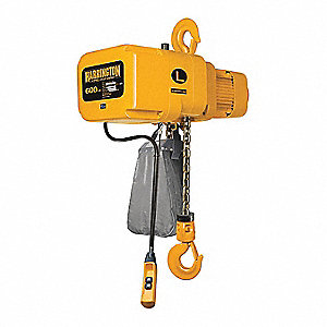 Electrc Chain Hoist,600lb,10ft Lift,230V