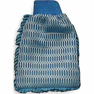 MICROFIBER MITT WASHABLE BLUE