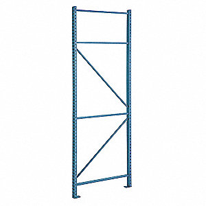 "Roll Formed Teardrop Upright Frame 96""H x 3""W x 42""D"