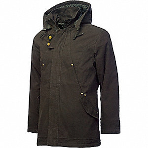 LADIES PARKA INSULATED W/HOOD