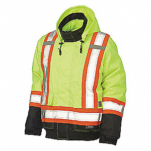 JACKET HI VIS 3-IN-1 BOMBER
