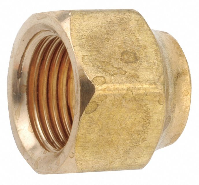 Forged Nut, 3/4 in Tube Size, Metal