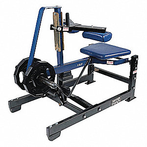 "50"" x 30"" x 55"" Hammer Strength Seated Calf Raise"
