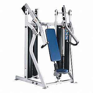 Chest Press Machine,40 in. L,77 in. H