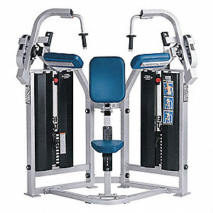 Triceps Extension Machine,36in L,60in H