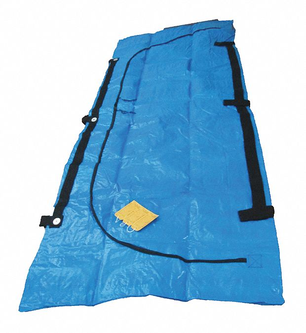 Cadaver Bag,  92 1/2 in Length,  36 in Width,  12 mil Thickness,  Vinyl