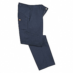 Work Pants,Dark Navy,44 in. Waist Size