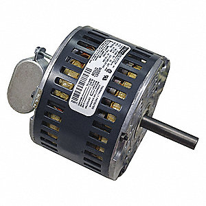 1/8 HP Condenser Fan Motor, Permanent Split Capacitor, 1350/1620 Nameplate RPM, 208/230 Voltage