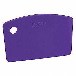 Mini Bench Scraper,Polypropylene,Purple