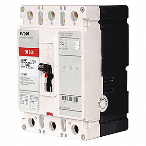 Circuit Breaker,  200 Amps,  Number of Poles:  3,  240VAC AC Voltage Rating