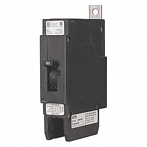 Bolt On Circuit Breaker, 35 Amps, Number of Poles:  1, 480VAC AC Voltage Rating