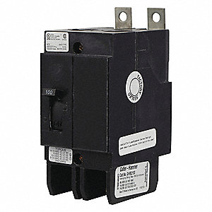 Bolt On Circuit Breaker, 20 Amps, Number of Poles:  2, 480VAC AC Voltage Rating