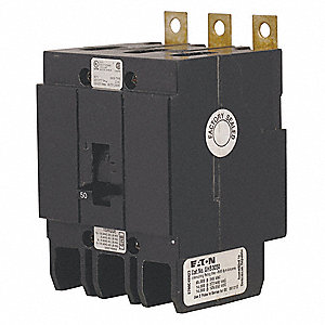 Bolt On Circuit Breaker,50Amps,3.00 in.W
