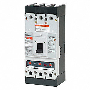 Circuit Breaker,  350 Amps,  Number of Poles:  3,  600VAC AC Voltage Rating