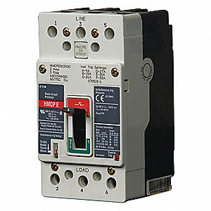 Circuit Breaker,100Amps,7.00 in.H,250VDC