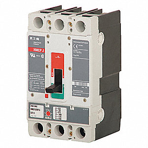 Circuit Breaker,  1250 Amps,  Number of Poles:  3,  600VAC AC Voltage Rating