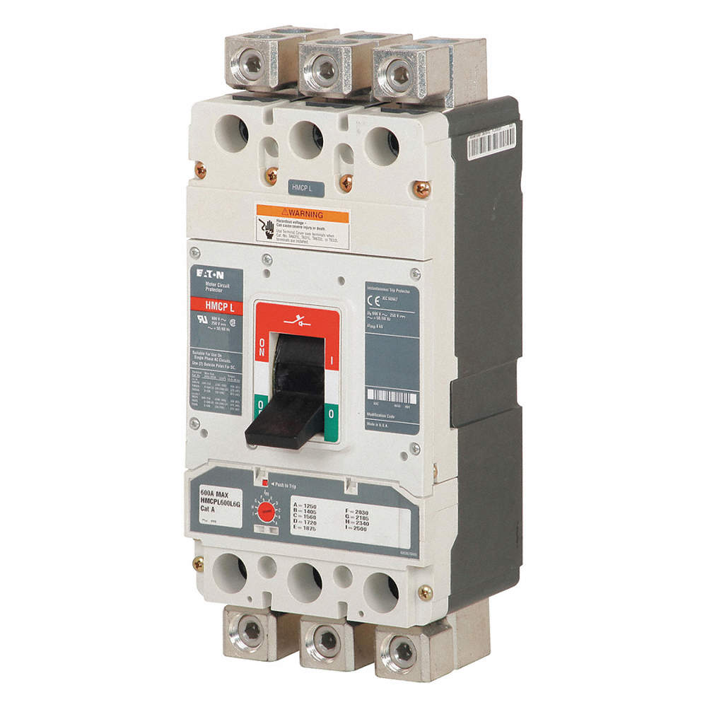 EATON Circuit Breaker, 1500 Amps, Number of Poles: 3, 600VAC AC ...