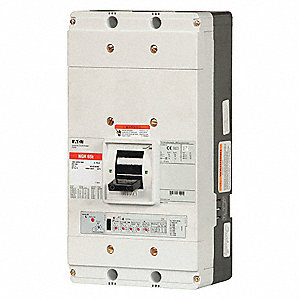 Circuit Breaker,  1200 Amps,  Number of Poles:  3,  600VAC AC Voltage Rating