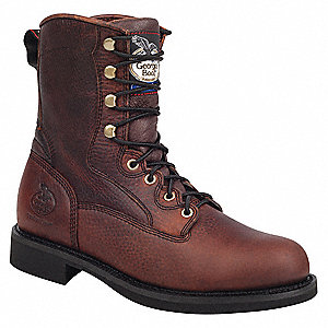Work Boots,Leather,8 In,8-1/2M,PR