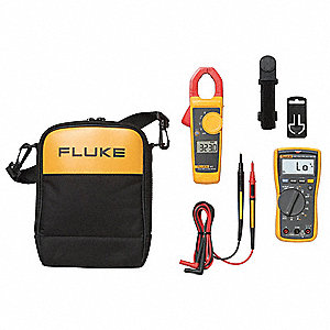 Digital Multimeter, Clamp On Kit, Test Instrument Included: Clamp Meter, Digital Multimeter