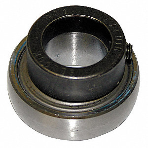 Insert Bearing,Dia 1-1/8 In,Self-Locking