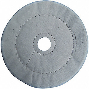 BUFFING WHEEL CSHN SEWN 4 IN DIA.