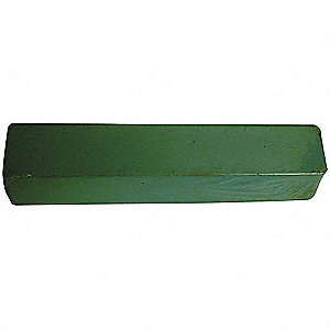 BUFFING COMPOUND,GREEN,1 LB.