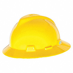 HAT,V-GD,W/1-TOUCH SUSP.,YELLOW