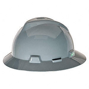 HAT,V-GD,W/1-TOUCH SUSP.,NAVY GRAY