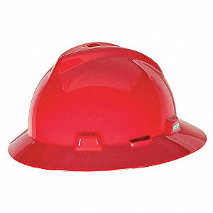 HAT,V-GD,W/1-TOUCH SUSP.,RED