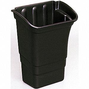 BIN REFUSE 8GAL 30.3L BLACK