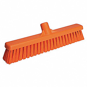 FLOOR BROOM W/ MEDIUM BRISTLES OR