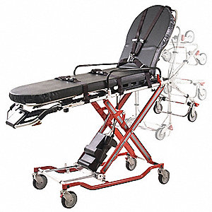 "Powered Cot, 700 lb. Weight Capacity, 83"" Length, 24"" Width, 13"" to 41"" Height"