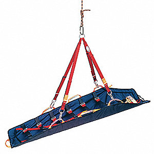 Rescue Stretcher,550 lb.,80 In.,Blue