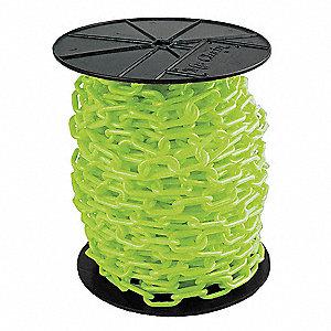CHAIN PLASTIC #6 GREEN REEL 1.5X200