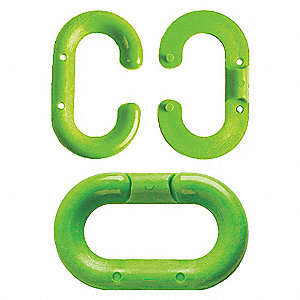 MASTER LINK 1.5 INCH GREEN 10 PACK