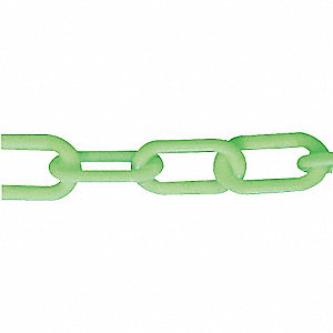CHAIN PLASTIC GLOW IN DARK 3 X 50