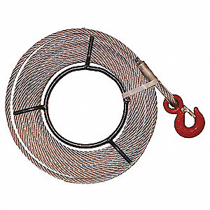 GALV CABLE ASSY 5/16IN X 66FT