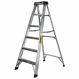 LADDER ALUMINUM XW 6FT STEP TYPE1A