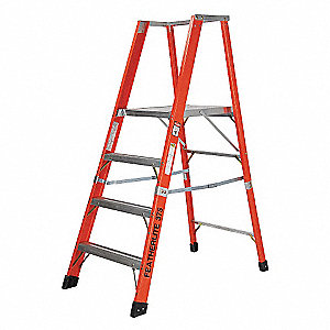 LADDER FG XW 4FT PLATFRM TYPE1AA