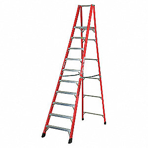 LADDER,FIBERGLASS,PLTFMSTEP,12FT,TYPE1AA
