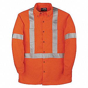7OZ TECASAFE DRESS SHIRT W/TAPE