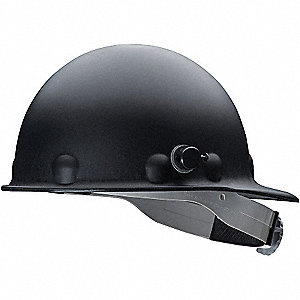 CS HARD HAT FIBERGLS QL 3S RED