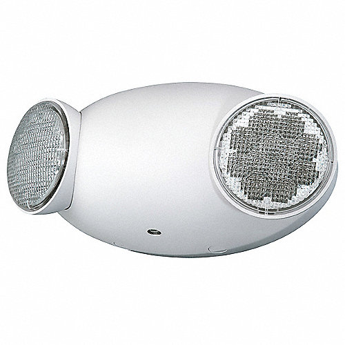 Hubbell lighting compass luz de emergencia 120 277v 2w - Luz de emergencia precio ...