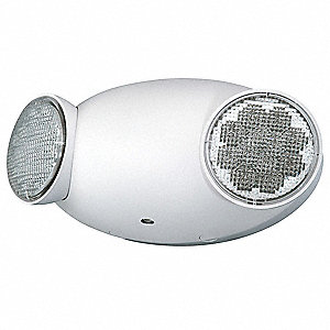 "9"" x 2-3/4"" x 4"" LED Emergency Light, Ceiling/Wall Mounting"